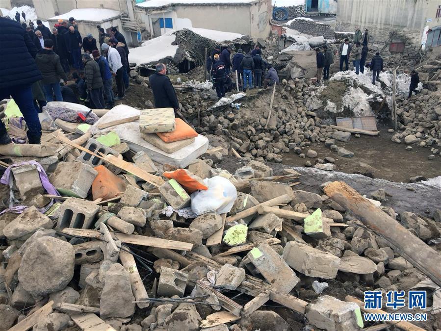 土伊邊境發生地震 至少9人死亡