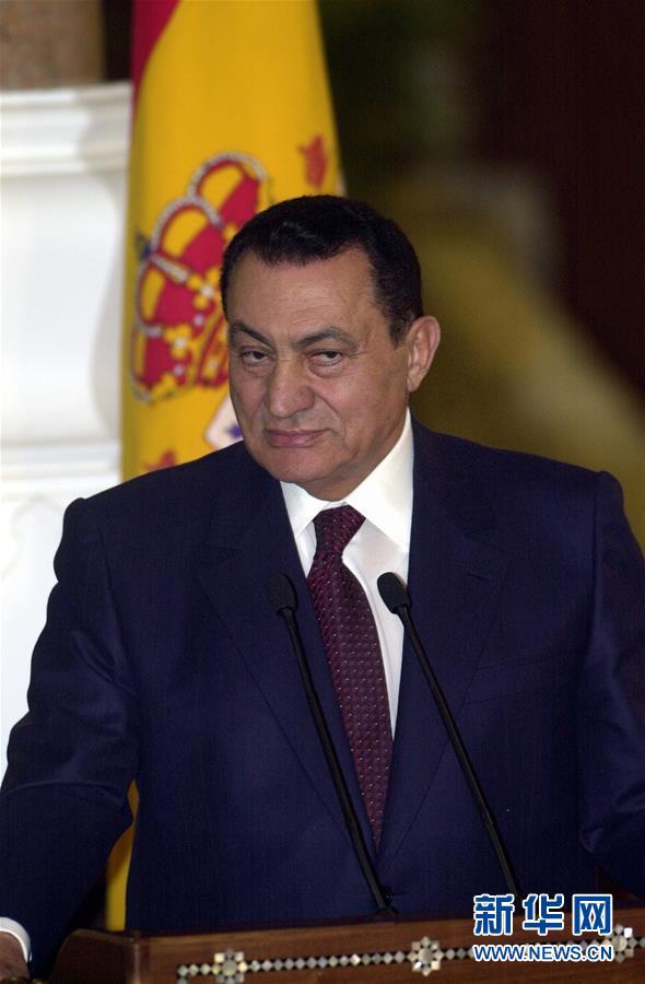 (国际)(3)埃及前总统穆巴拉克去世