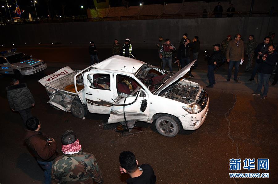 (國際)(1)敘利亞首都再次發生汽車爆炸襲擊