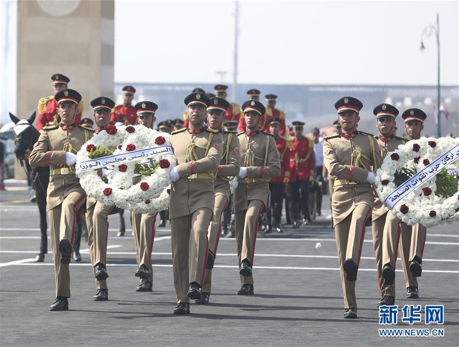 (國際)(1)埃及為前總統穆巴拉克舉行葬禮