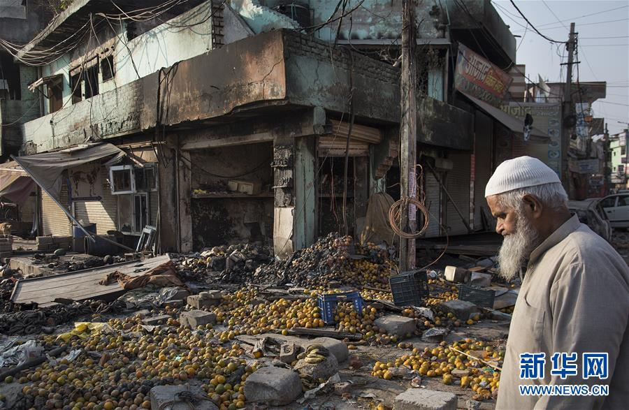 (国际)(5)印度《公民身份法》修正案引发的骚乱死亡人数升至35人