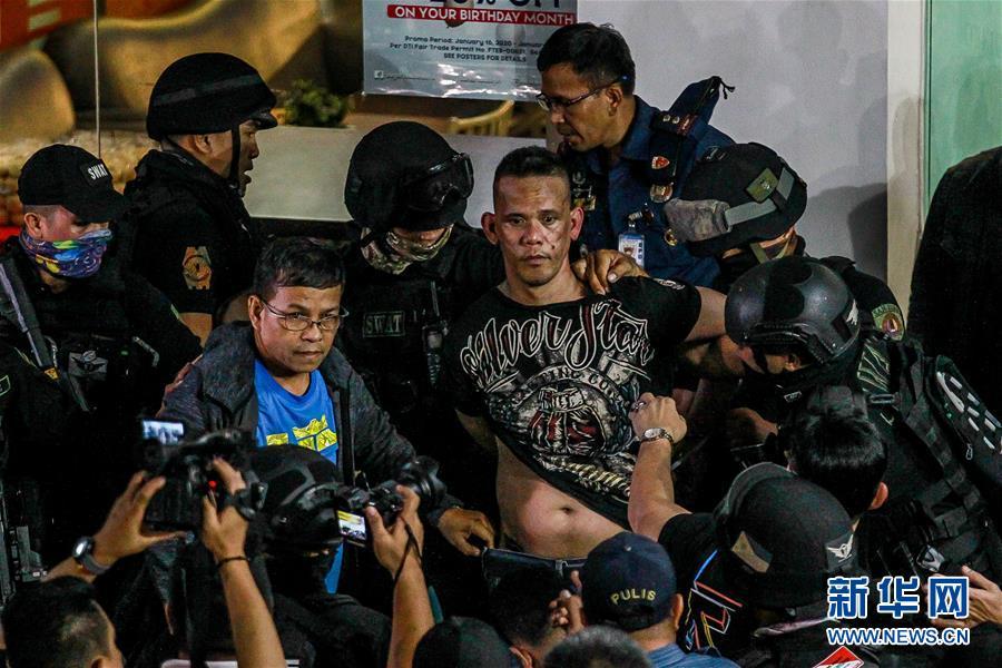 (國際)(5)菲律賓首都商場遭劫持人質全部獲釋