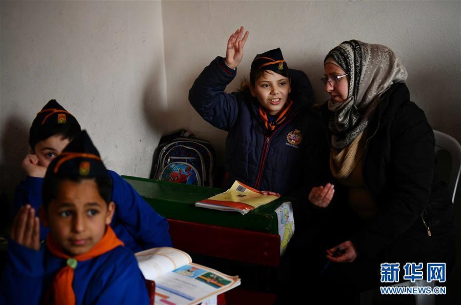 (國際·圖文互動)(6)通訊:戰爭給他們留下殘缺的童年——敘利亞危機9周年記