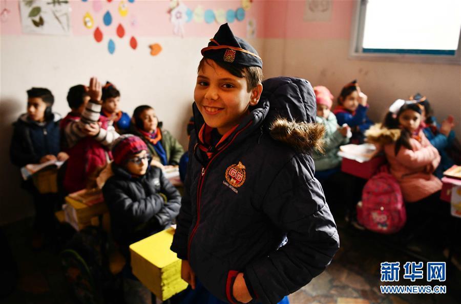 (國際·圖文互動)(8)通訊:戰爭給他們留下殘缺的童年——敘利亞危機9周年記