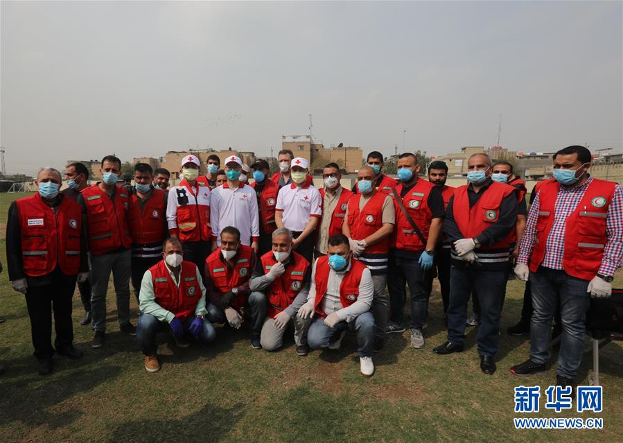(國際疫情·圖文互動)(2)通訊:中國專家組在伊拉克做了三件事