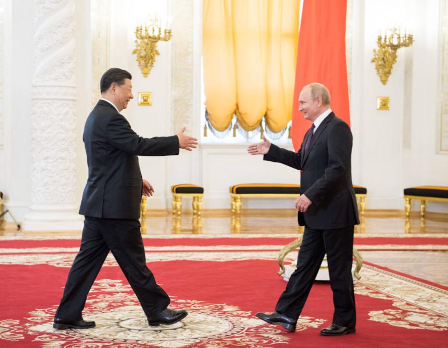 同老朋友普京通电话,习主席再次提到这一重要理念