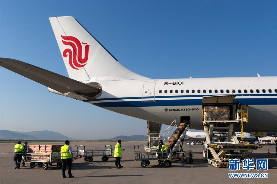 (国际疫情)(7)中国向希腊援助抗疫医疗物资