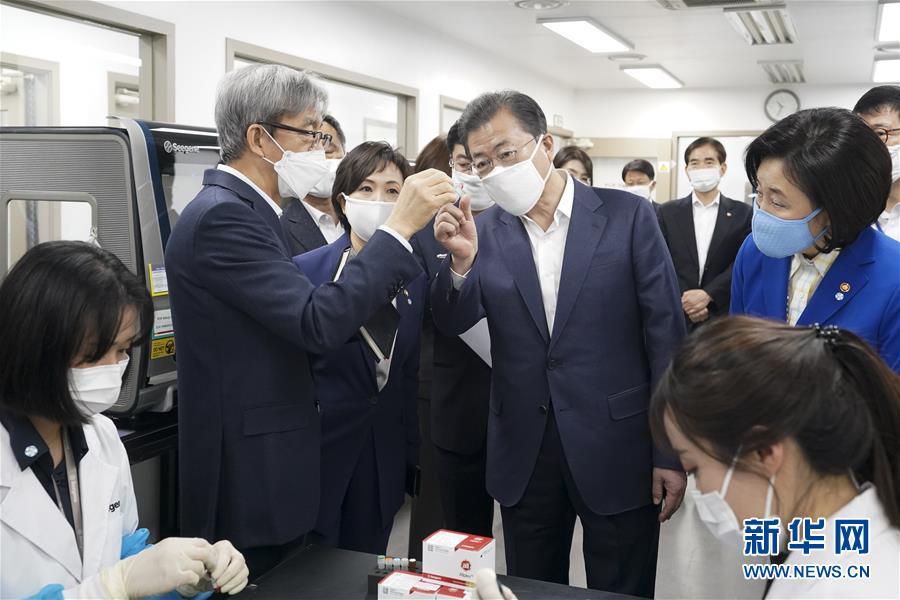 (國際疫情)(1)文在寅説特朗普向韓國提出醫療物資支援請求