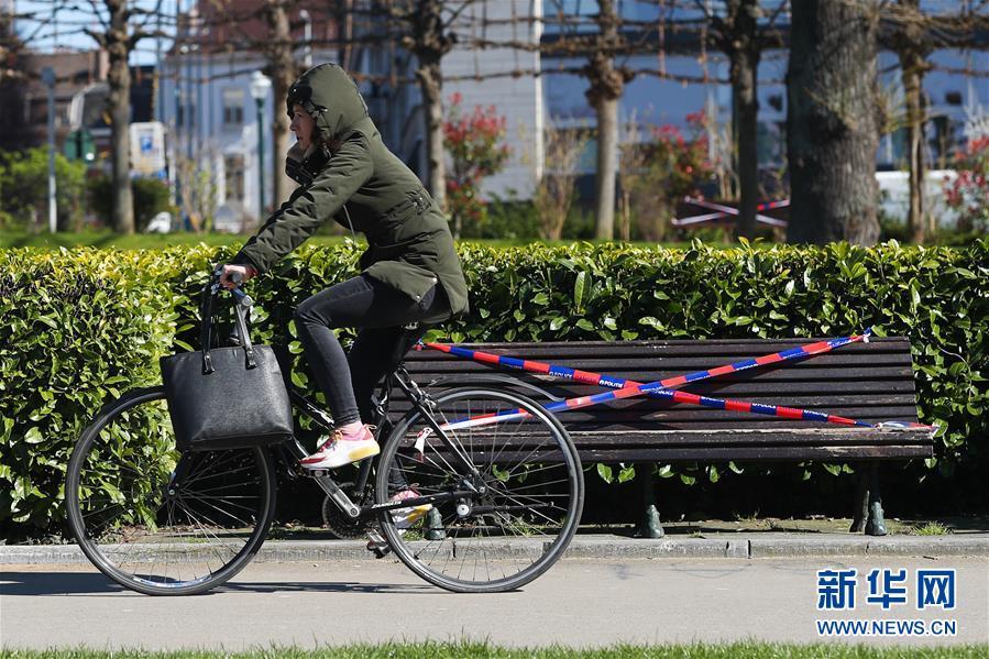 (國際疫情)(1)比利時:長椅被封 減少聚集