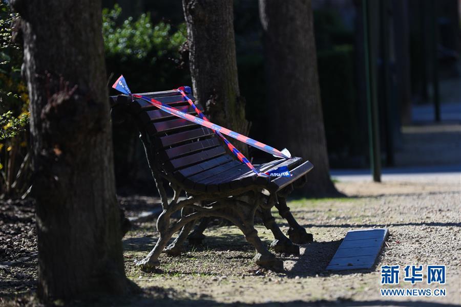 (國際疫情)(2)比利時:長椅被封 減少聚集