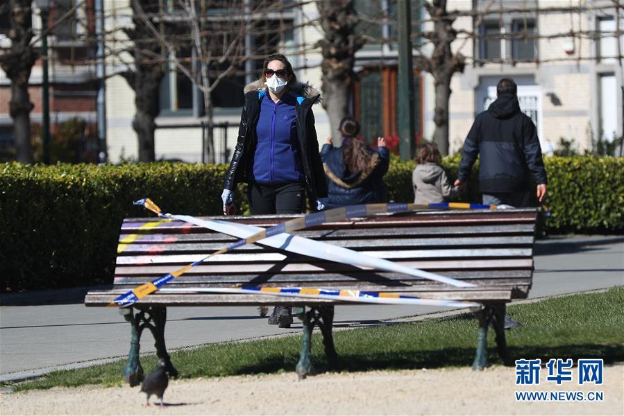 (國際疫情)(3)比利時:長椅被封 減少聚集