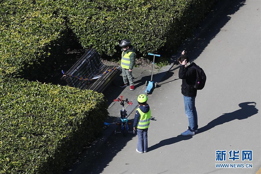 (國際疫情)(6)比利時:長椅被封 減少聚集