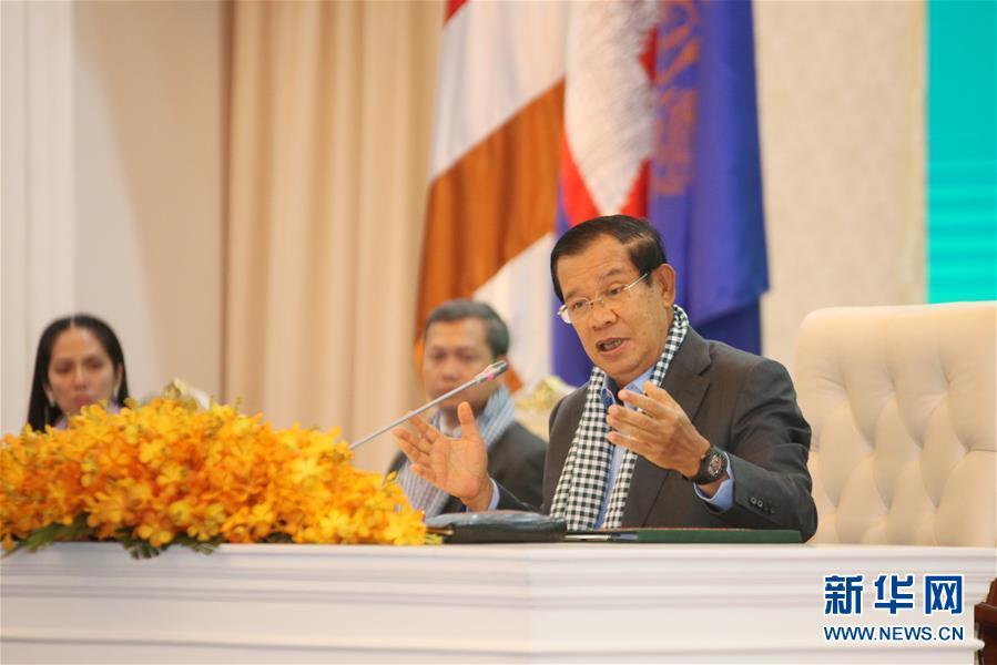 (國際疫情)洪森:中國醫療專家組和物資對柬埔寨抗擊疫情非常重要