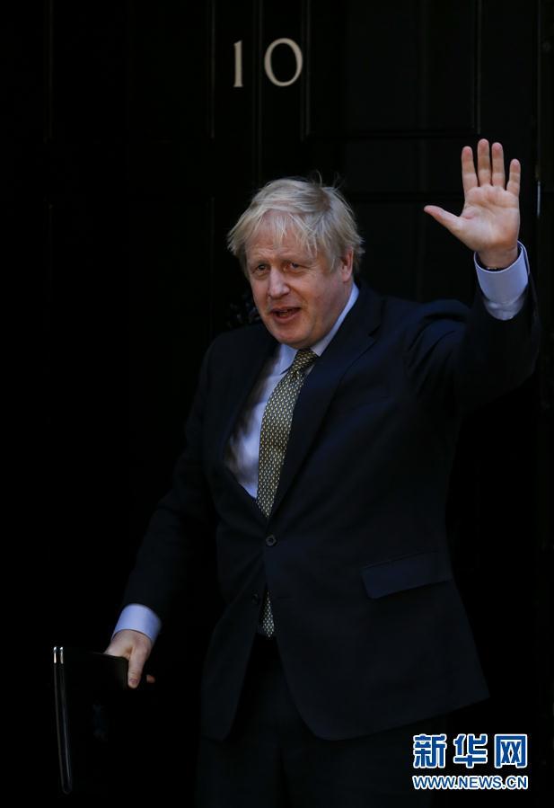 (國際疫情·XHDW)(2)英國首相鮑裏斯·約翰遜新冠病毒檢測呈陽性