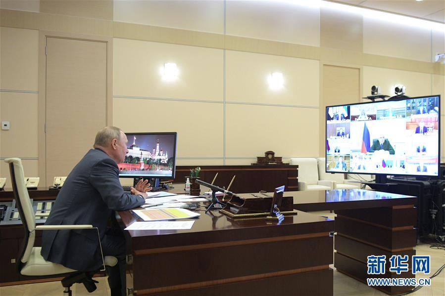 (国际)(2)普京进行远程办公
