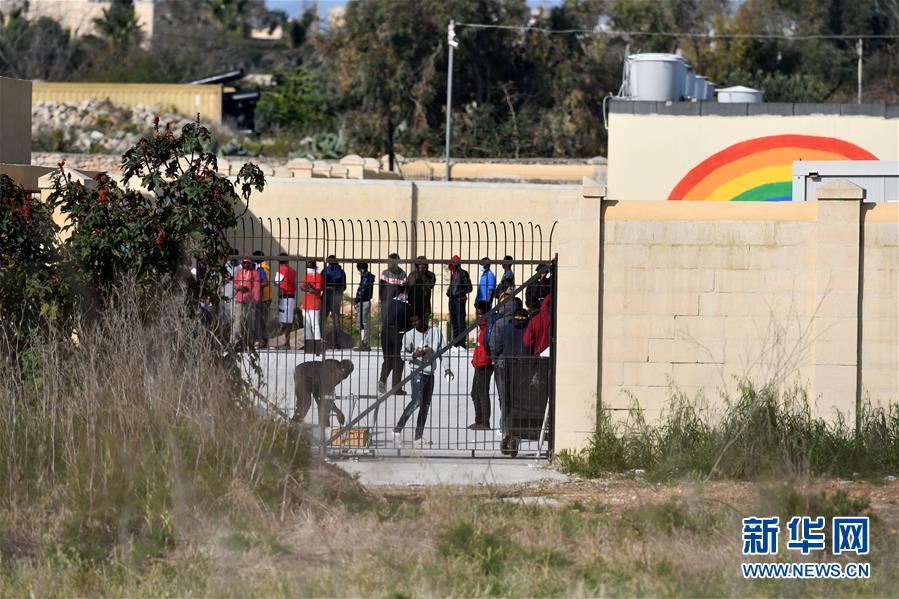 (國際疫情)(1)馬耳他一座難民營確診多例後封閉
