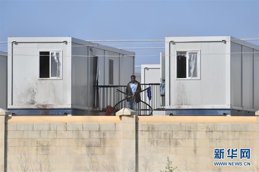 (國際疫情)(3)馬耳他一座難民營確診多例後封閉