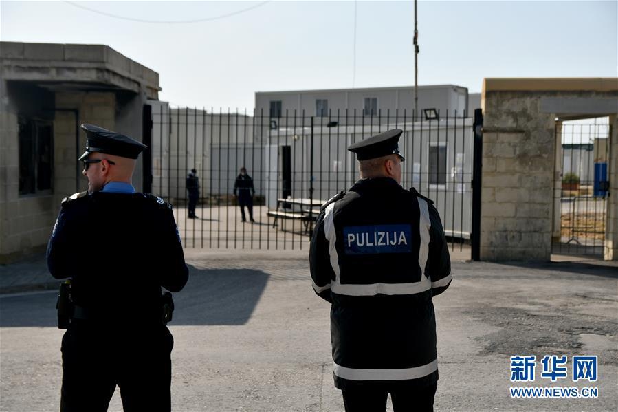 (國際疫情)(6)馬耳他一座難民營確診多例後封閉