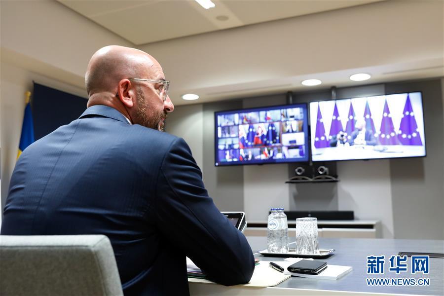 """(國際疫情)(1)歐盟成員國領導人同意設立""""恢復基金""""振興經濟"""