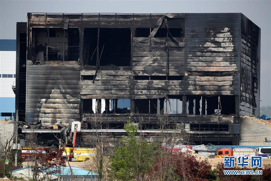 (国际)(2)一中国公民在韩国利川火灾中死亡