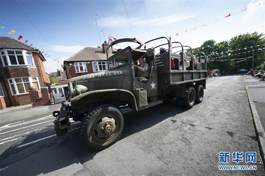 (國際)(2)英國舉行活動紀念二戰勝利75周年