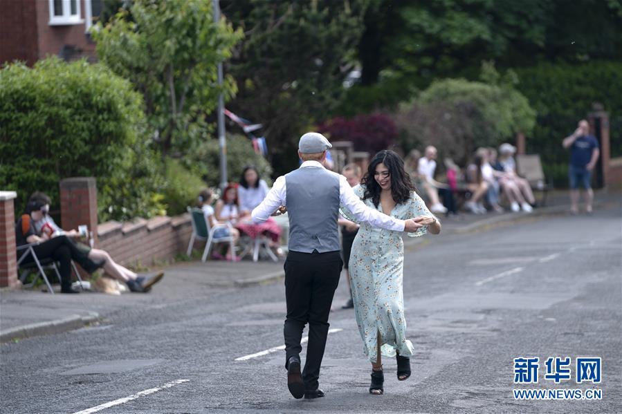 (國際)(3)英國舉行活動紀念二戰勝利75周年