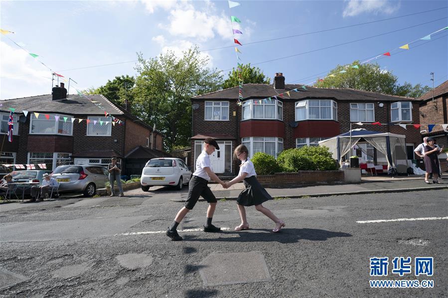 (國際)(1)英國舉行活動紀念二戰勝利75周年