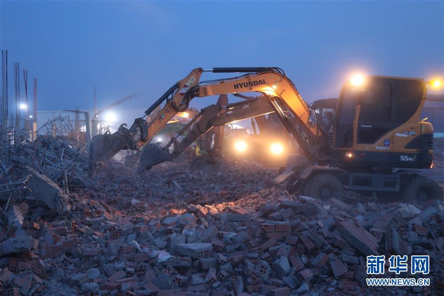 越南一建筑工地发生坍塌事故导致10人死亡 15人受伤
