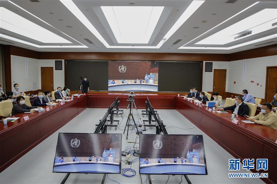 (世界卫生大会)(2)世卫大会开幕 谭德塞呼吁全球团结抗疫