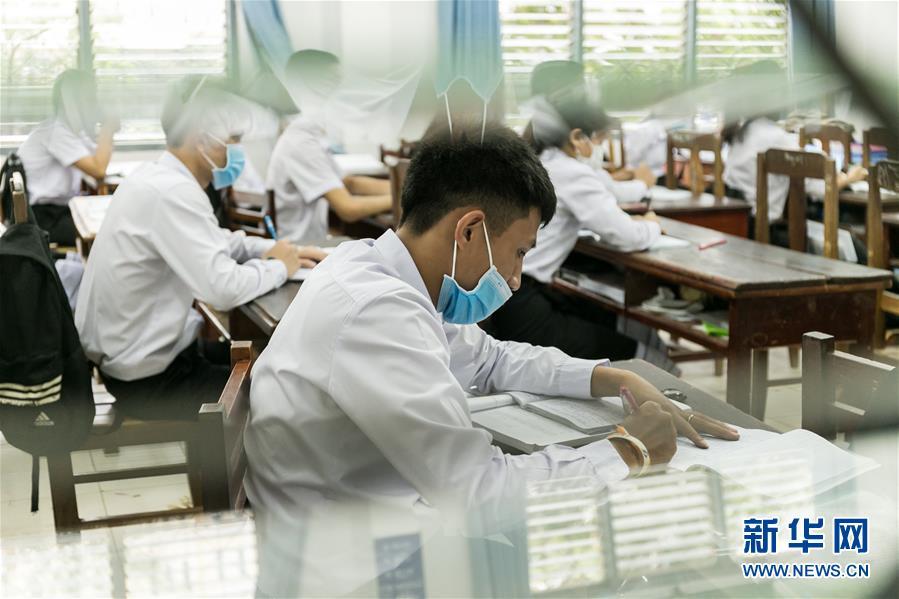 (国际疫情)(2)老挝学生陆续返校复课