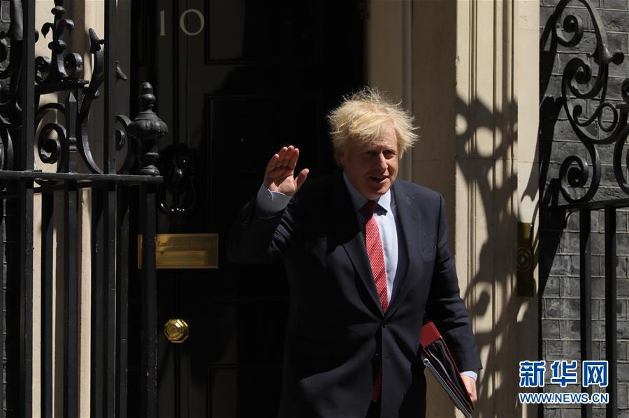 (国际)(1)英国首相前往议会进行首相问答