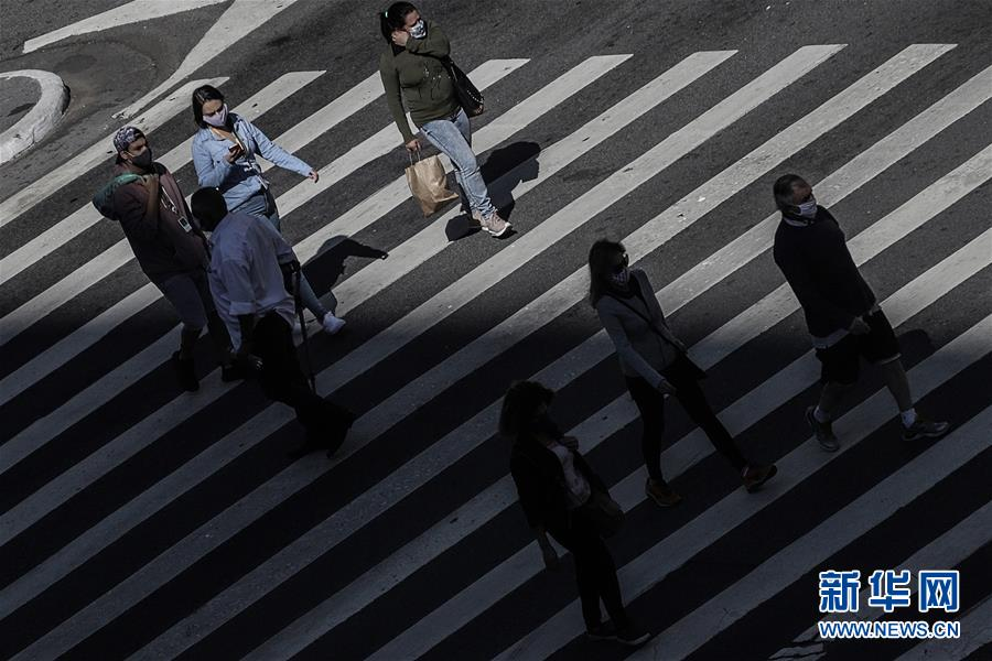 (国际疫情)(3)巴西确诊新冠病例数超过40万