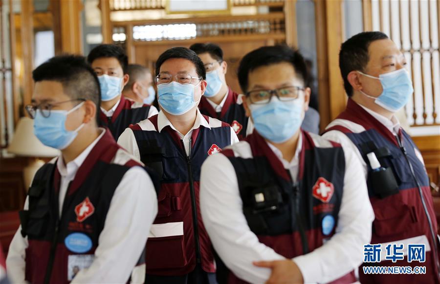 (國際)(2)中國抗疫醫療專家組離開阿爾及利亞前往蘇丹