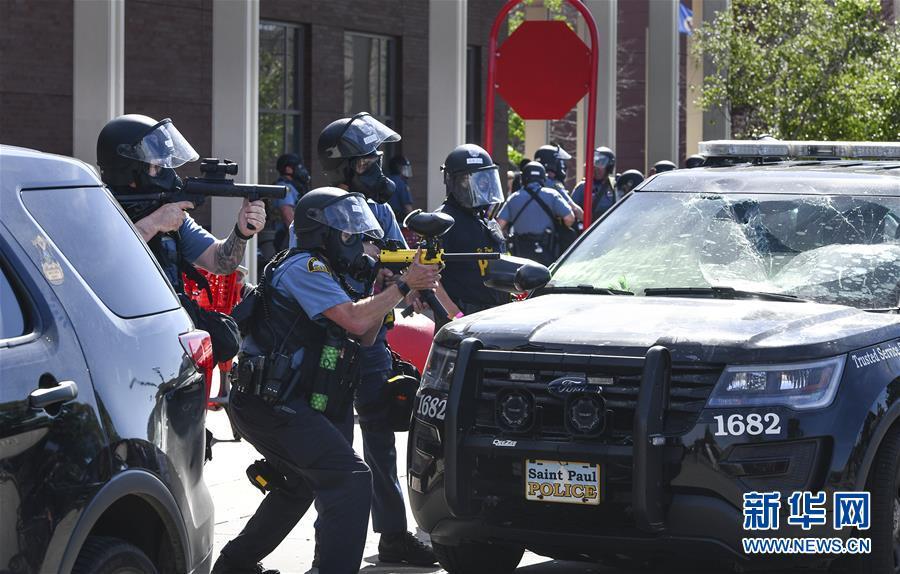 (國際)(3)美國警察執法動作不當致一名非裔男子死亡 引發大規模抗議