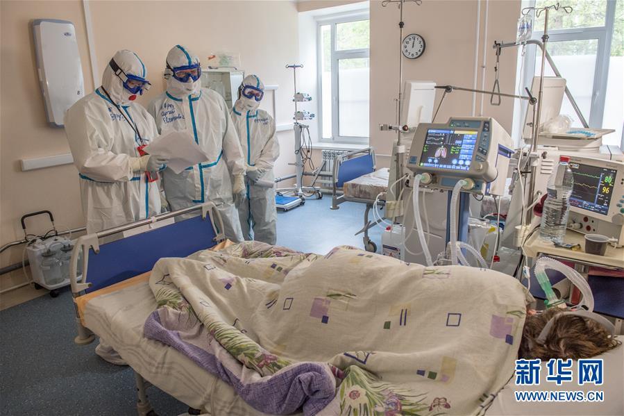 (国际疫情)(2)俄罗斯新冠确诊病例近40万