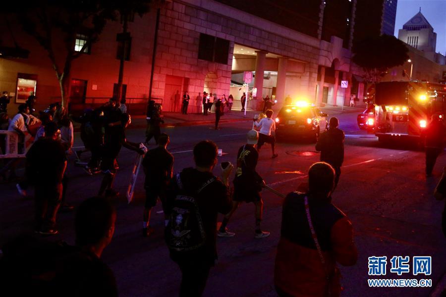 (国际)(1)洛杉矶示威发展为骚乱 533人被警方逮捕