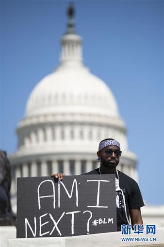 """""""我们的国家病了""""――黑人枉死再揭美国种族歧视疮疤"""