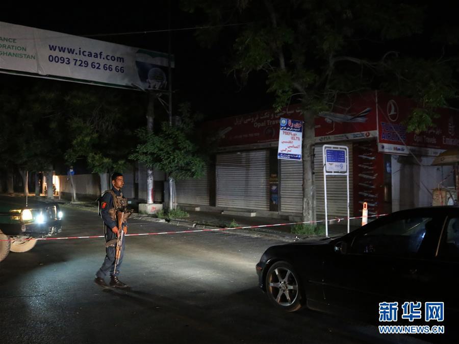 (國際)(1)阿富汗首都發生自殺式襲擊致2死2傷