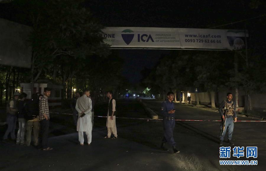 (國際)(2)阿富汗首都發生自殺式襲擊致2死2傷