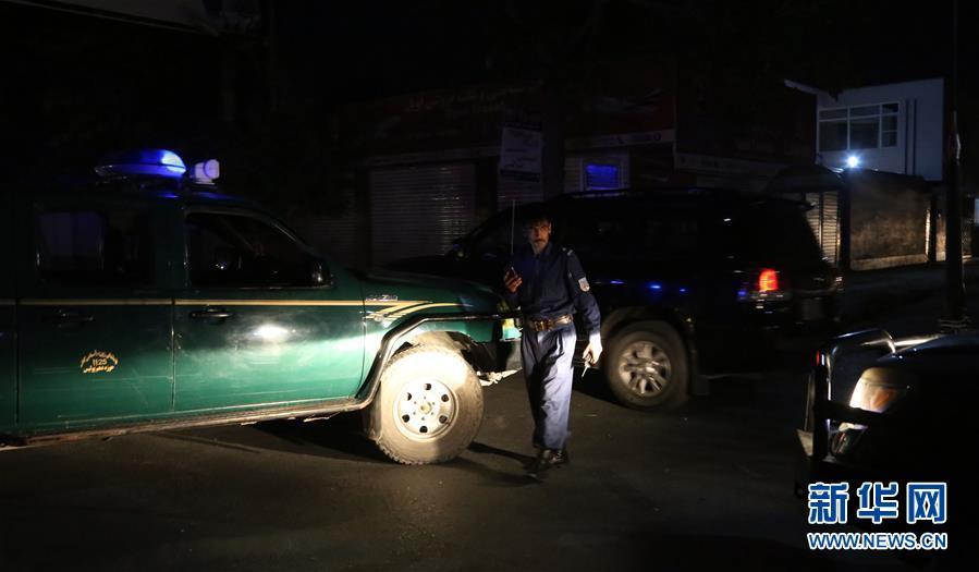 (國際)(3)阿富汗首都發生自殺式襲擊致2死2傷