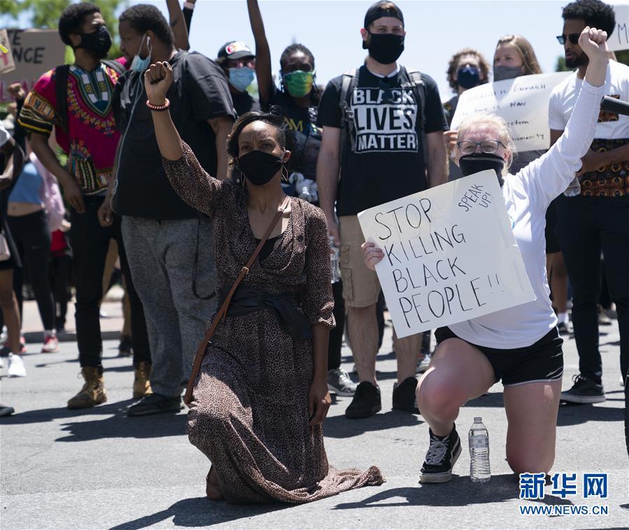 (新華視界)(1)華盛頓:繼續抗議警察暴力執法