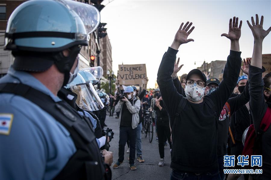 (國際)(3)芝加哥抗議示威活動繼續進行
