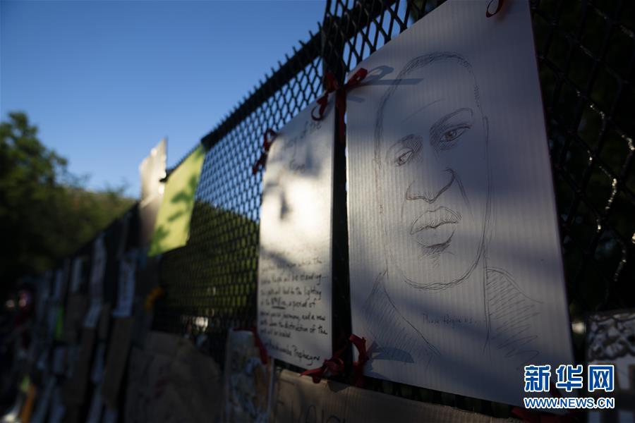 (國際)(4)美國華盛頓:抗議警察暴力執法活動持續