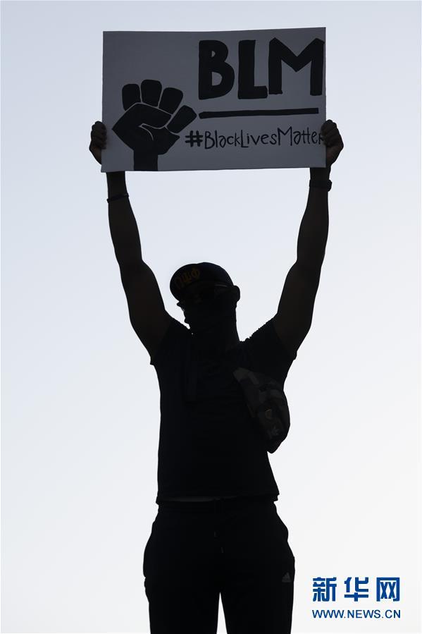 (國際)(7)美國華盛頓:抗議警察暴力執法活動持續