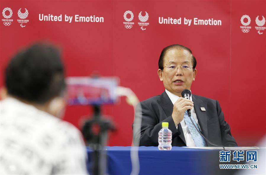 (体育·图文互动)(2)东京奥组委首席执行官:没人能百分之百承诺奥运会能如期举行