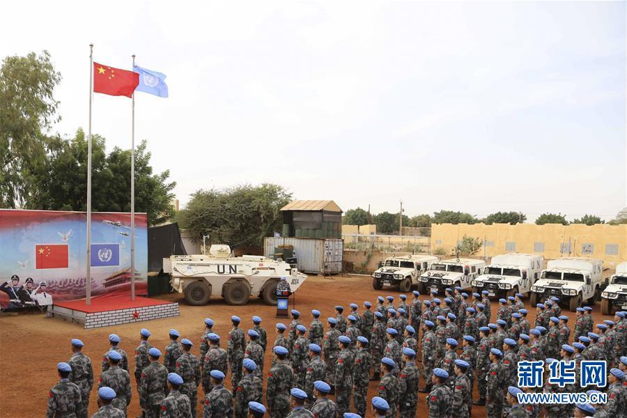 (新華全媒頭條·圖文互動)(1)崢嶸歲月30年 中國藍盔衛和平
