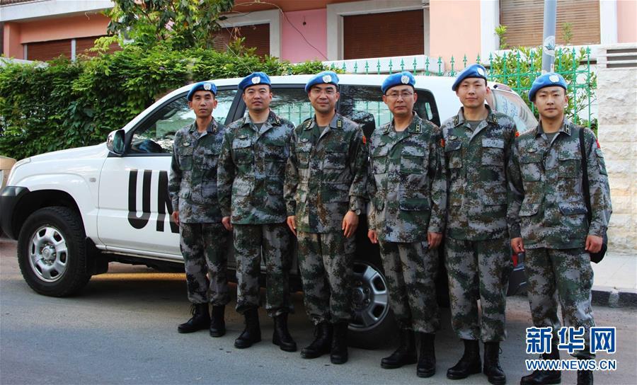 (新華全媒頭條·圖文互動)(3)崢嶸歲月30年 中國藍盔衛和平