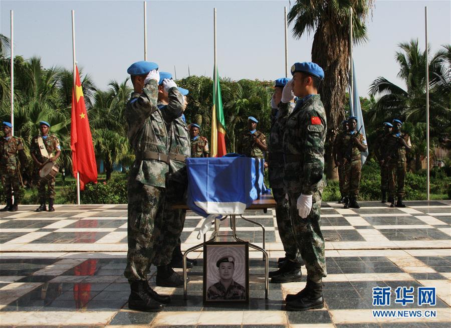 (新華全媒頭條·圖文互動)(5)崢嶸歲月30年 中國藍盔衛和平