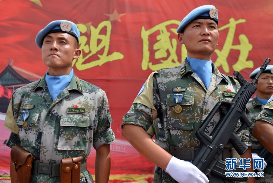 (新華全媒頭條·圖文互動)(8)崢嶸歲月30年 中國藍盔衛和平