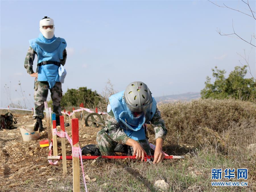 (新華全媒頭條·圖文互動)(9)崢嶸歲月30年 中國藍盔衛和平